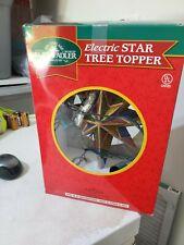 SANTA'S WORLD KURT ADLER ELECTRIC STAR TREE TOPPER  NEW IN BOX
