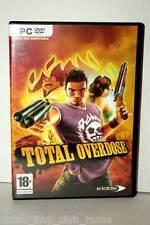 TOTAL OVERDOSE GIOCO USATO OTTIMO PC DVD EDIZIONE ITALIANA PRIMA STAMPA 30536
