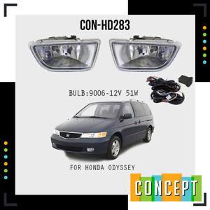 For 1999-2001 Honda Odyssey Fog Lights Lamps with Assembly Set L&R Side