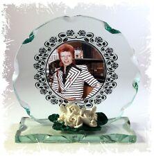 David Bowie, Cenere alla Cenere, Tagliare Il Vetro Rotondo PLACCA, Legenda Edizione Limitata #1