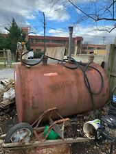 500 Gallon gas tank with manual pump