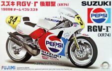 Fujimi 1/12 Scale Model Kit Team Pepsi Suzuki RGV-500 Gamma XR74 MotoGP '88