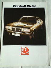 Vauxhall Victor range brochure Sep 1973