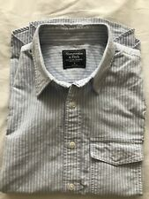 Abercrombie Men's Oxford Short Sleeved Shirt Small New