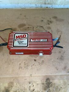 MSD 6420 6AL Ignition Control Box w/  Rev Limiter USED