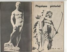 Physique Pictorial Gay Interest Magazine Steve Wengryn  Vol 8 #1 Spring 1958