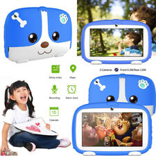 7'' Kids Tablets 8GB 1024*600 HD Display Camera WiFi Quad Core Educational Games