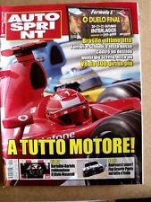 AUTOSPRINT n°42 2006 Rally Andreucci Fiat Grande Puter su tetto d' Italia  [P50]