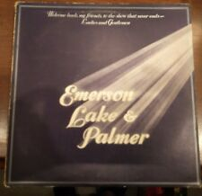 Emerson Lake & Palmer-Welcome Back My Friends To The Show That Never Ends 3XLP