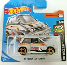 🚓 HOT WHEELS HW RACE DAY '85 HONDA CITY TURBO III  short card 2020
