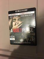 A Quiet Place (4K Ultra HD and Blu-ray) Emily Blunt, John Krasinski - No Digital