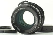 【Near MINT】 Pentax SMC 67 105mm f/2.4 Late Model Lens  6x7 67II From JAPAN #358