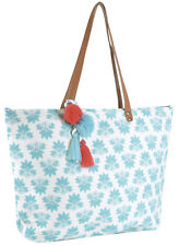 Womens Tropical Summer Beach Bag Shoulder Shopping Travel Handbag Large Tote