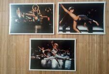 3 carte postale film cinéma comédie musicale Broadway danse CHORUS LINE show