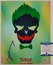 JARED LETO Autograph Signed SUICIDE SQUAD The Joker 11x14 Photo ~BAS Beckett COA