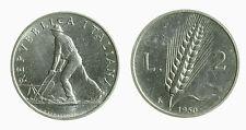 pci3645) Italia Repubblica in Italma - 2 lire 1950 Spiga