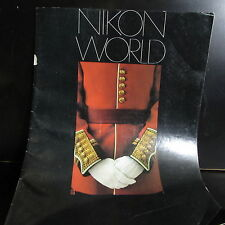 Nikon World Photo Guide Brochure printed 1981 31 pages O401829