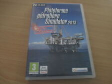 pc cd-rom plateforme petroliere simulator 2013