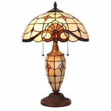 Tiffany Style Table Lamp Victorian Desk Stained Glass Home Lamp