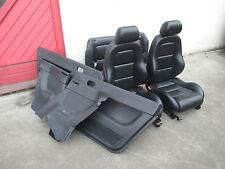 LEDER Ausstattung Audi TT 8N schwarz Soul Sitz Verkleidung