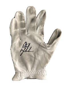 Phil Mickelson Tournament Used Autographed Signed Auto Glove PGA Champion PSA