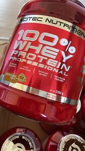 Scitec Nutrition 100% Whey Protein Professional 2350g Dose Cappuccino ❗️NEU ❗️❗️