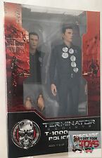 """NECA TERMINATOR GENISYS T-1000 POLICE DISGUISE 7"""" INCH 2015 ACTION FIGURE"""