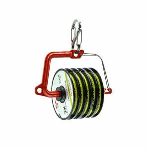 NEW SCIENTIFIC ANGLERS SWITCH TIPPET HOLDER LOADED W/ 5 30YD SPOOLS OF TIPPET