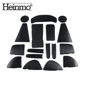 Car Side Door Groove Mats Cup Holder Coasters Pads For Mini Cooper F54 Clubman
