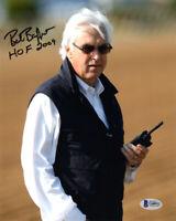 BOB BAFFERT SIGNED AUTOGRAPHED 8x10 PHOTO + HOF HORSE RACING TRAINER BECKETT BAS