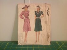 Vintage McCall Ladies and Misses' Dress Size 14 Made in USA