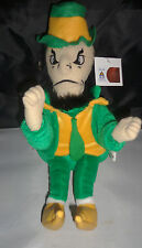 "Notre Dame  Fighting Irish  Leprechaun  Plush Mascot Stuffed Soft Toy 12""  New"