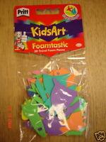 PRITT KIDS ART 'FOAMTASTIC' 3D TRAVEL FOAM SHAPES CRAFT
