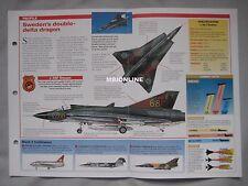 Aircraft of the World Card 18 , Group 4 - Saab J35 Draken