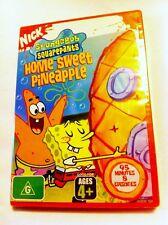SpongeBob SquarePants: Home Sweet Pineapple Region4 DVD - BRAND NEW