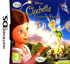 CLOCHETTE ET L'EXPEDITION FEERIQUE JEU 3DS NEUF