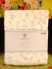 SIMPLY SHABBY CHIC FLORAL COTTON CANDY QUEEN DEEP FIT SHEET SET RACHEL ASHWELL