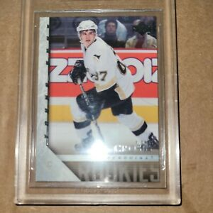 2005-06 UD Upper Deck Young Guns #201 Sidney Crosby Penguins RC Rookie BGS 9 mnt
