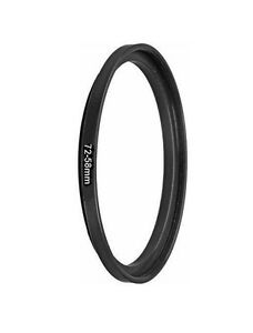 Bower 72mm-58mm Step Down Metal Ring Adapter 72-58mm