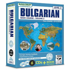 FSI: Basic Bulgarian 2 (6 CDs/Book) by Foreign Service Institute *NEW IN BOX*