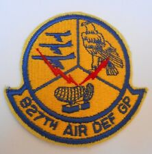 USAF  cloth  squadron patch   927 air defence group
