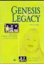 Genesis of a Legacy - Raising Godly Children Dvd Set Ken Ham
