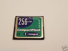 INTEGRAL 256mb CompactFlash Card  CF CARD