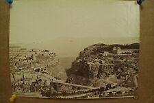 antique old PHOTO LEROUX  Arab Muslim AFRICA Kantara city ALGERIA 1890s