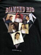 Vintage 1999 ? Diamond Rio Country Band Concert  Sweat T Shirt XL Tour