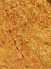 Gold Rush Sparkle Mica 1 oz Soap Lip Balm Lotion Creams