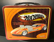 1998 Hot Wheels Twin Mill Metal Lunch Box & Thermos Very Clean Mattel, Inc.