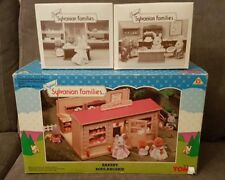 RARE VINTAGE TOMY SYLVANIAN FAMILIES BAKERY BOULANGERIE STORE - SET 3137 BOXED