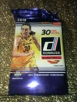 2019 Panini Donruss WNBA Basketball Hobby Factory Sealed Pack- 30 cards
