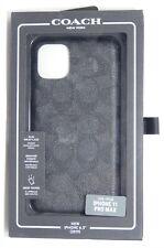 Coach - Slim Wrap - Signature C Case for Apple iPhone 11 Pro Max - Black
